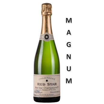 'Red Star' Brut Blanc de Noirs MAGNUM<br>(150 cL)