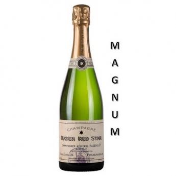 'Hasen Red Star' Brut Blanc de Noirs - Magnum<br>(150 cL)